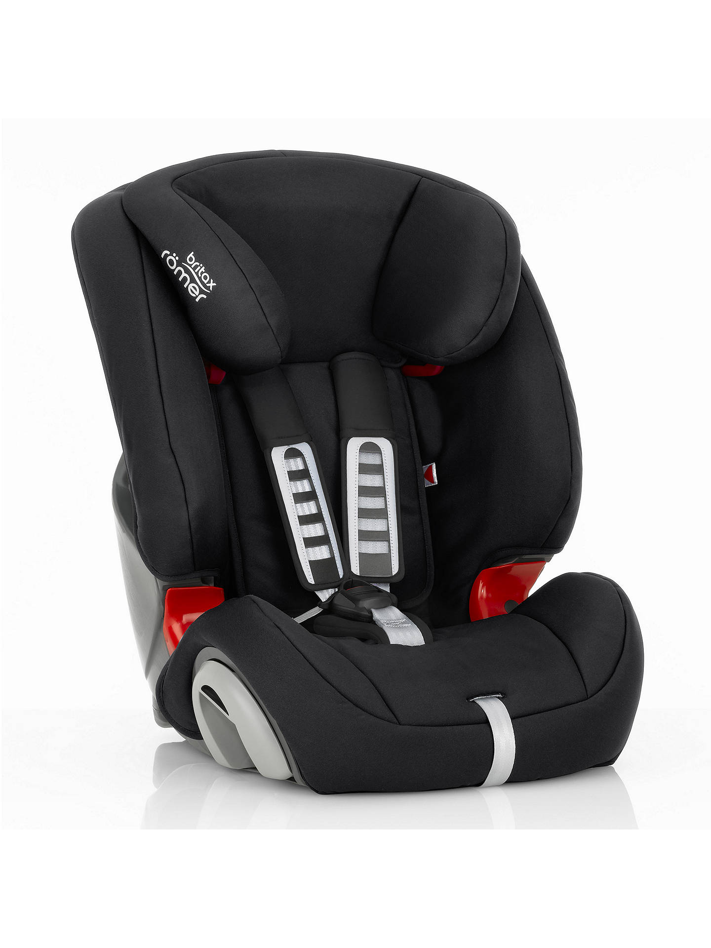 BuyBritax Römer EVOLVA 1-2-3 Group 1/2/3 Car Seat, Cosmos Black Online at johnlewis.com