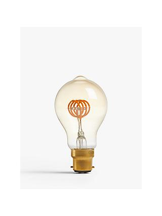 Calex 4W ES LED Classic Filament Flex Bulb, Clear / Gold, Dimmable