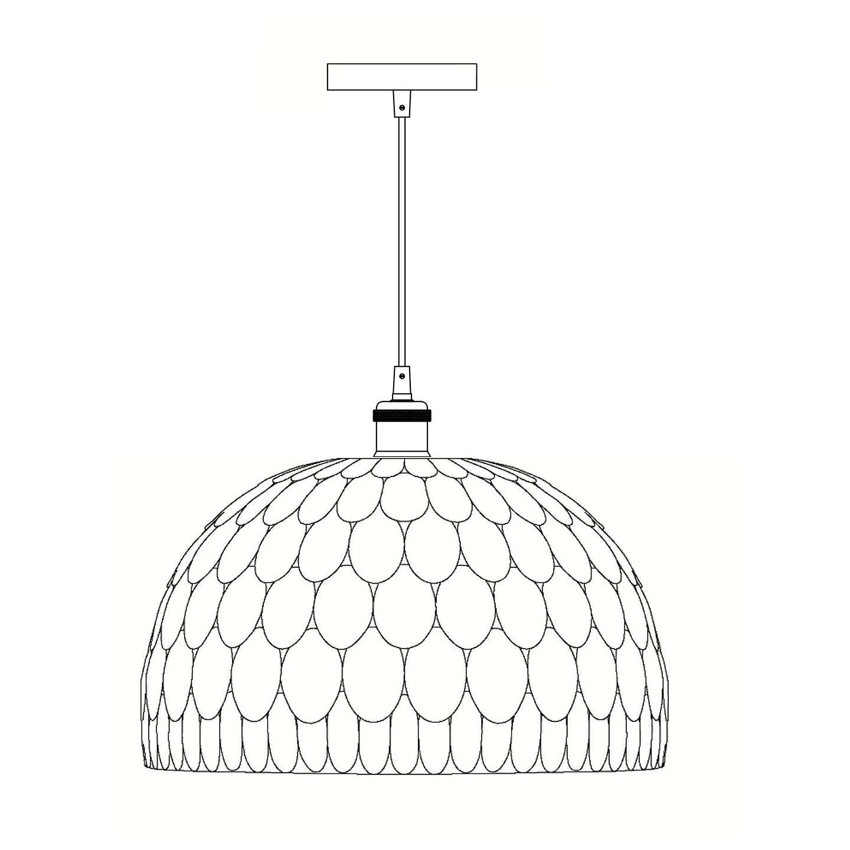 BuyJohn Lewis Ampara Capiz Shell Ceiling Light White Grey Online At Johnlewis