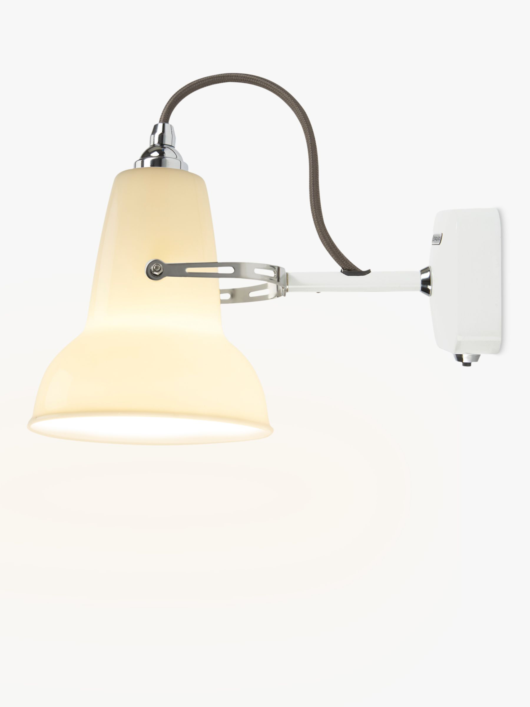 Anglepoise Anglepoise 1227 Mini Ceramic Wall Light, White