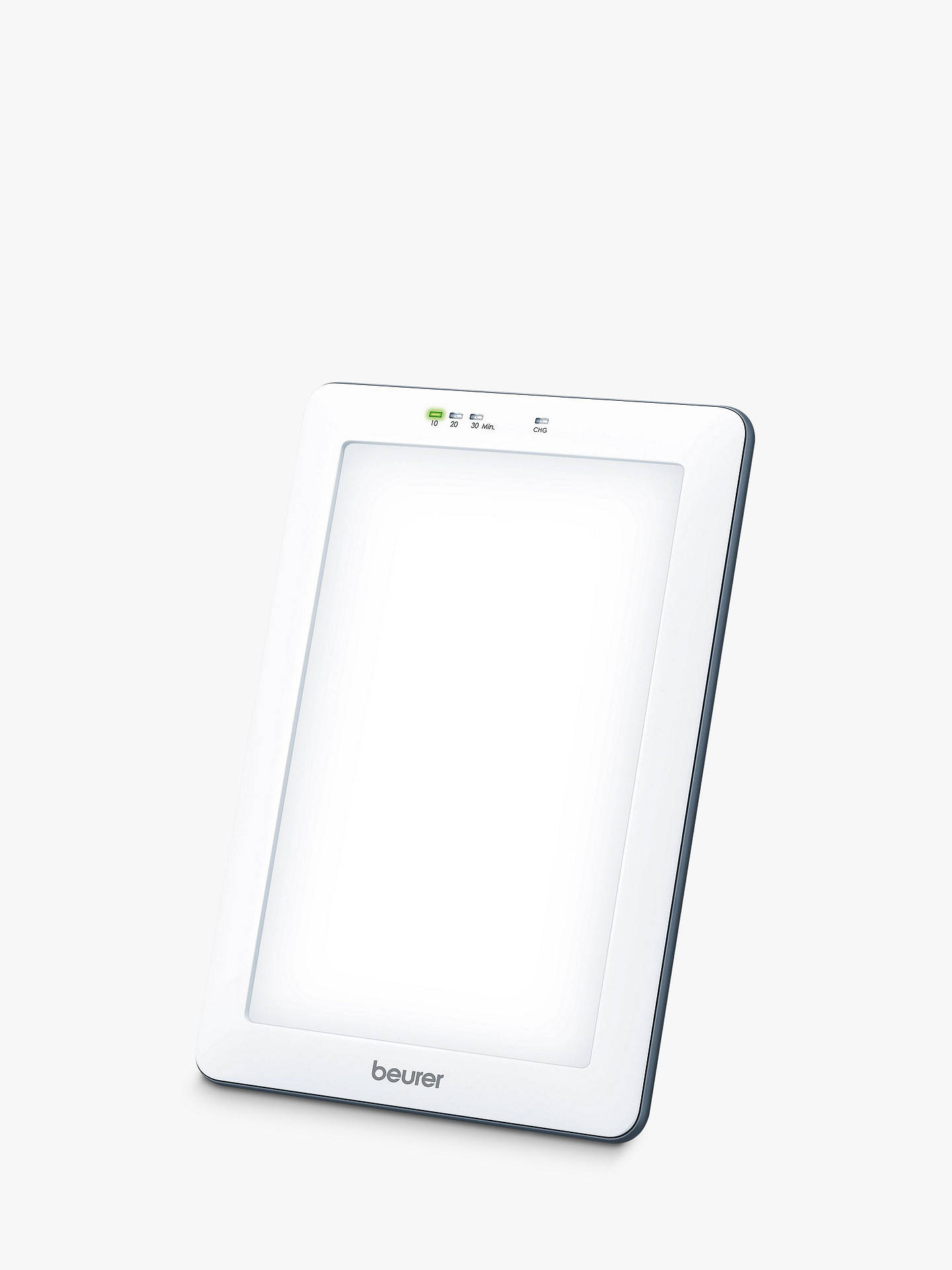 Buy Beurer TL55 Freestanding Sleep Therapy & SAD Bright Light, White Online at johnlewis.com