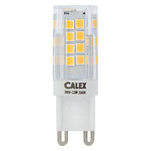 Buy Calex 2.5W G9 LED Capsule Bulb, Frosted, Dimmable Online at johnlewis.com