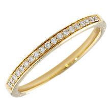 Buy London Road 18ct Gold Portobello Raindrop Diamond Half Eternity Ring Online at johnlewis.com