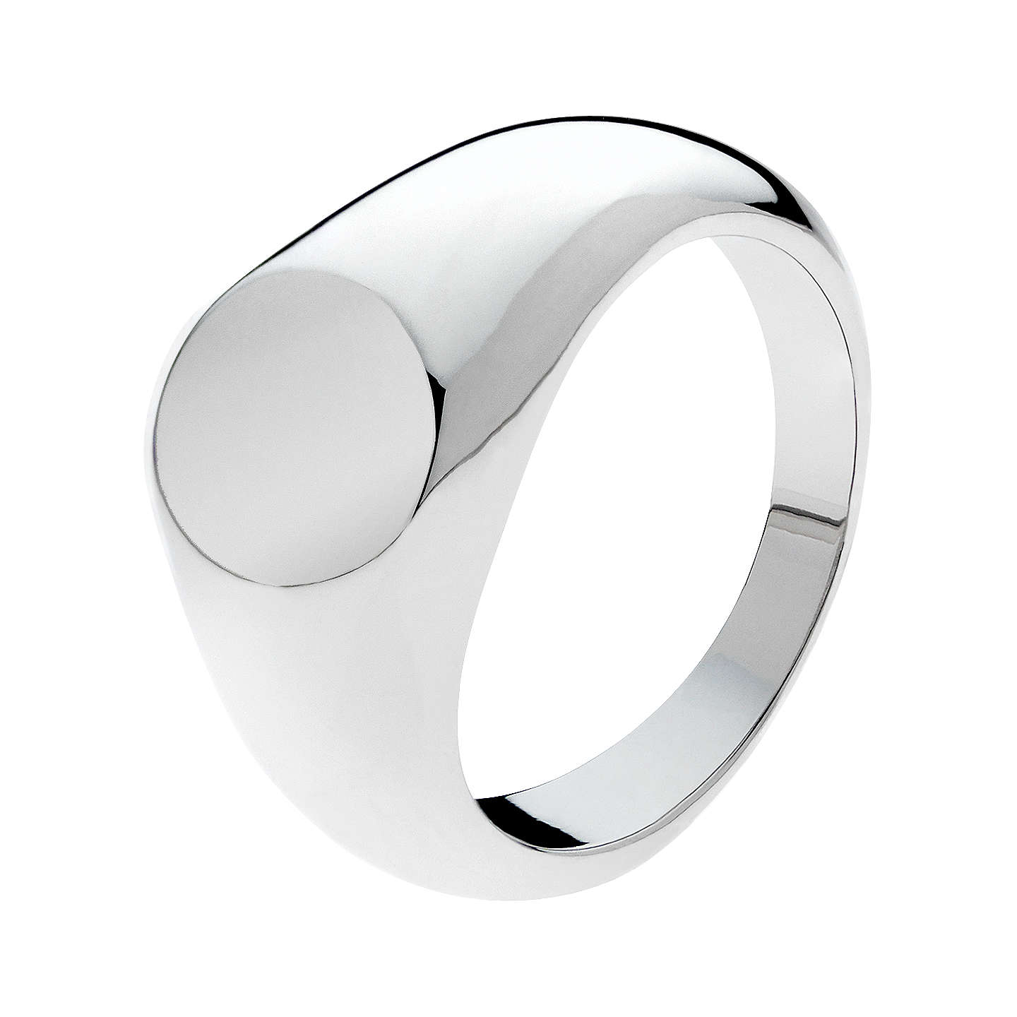 ring sterling onyx silver mens men signet s jewellery
