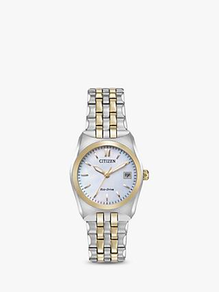 Citizen Women's Eco-Drive Date Bracelet Strap Watch