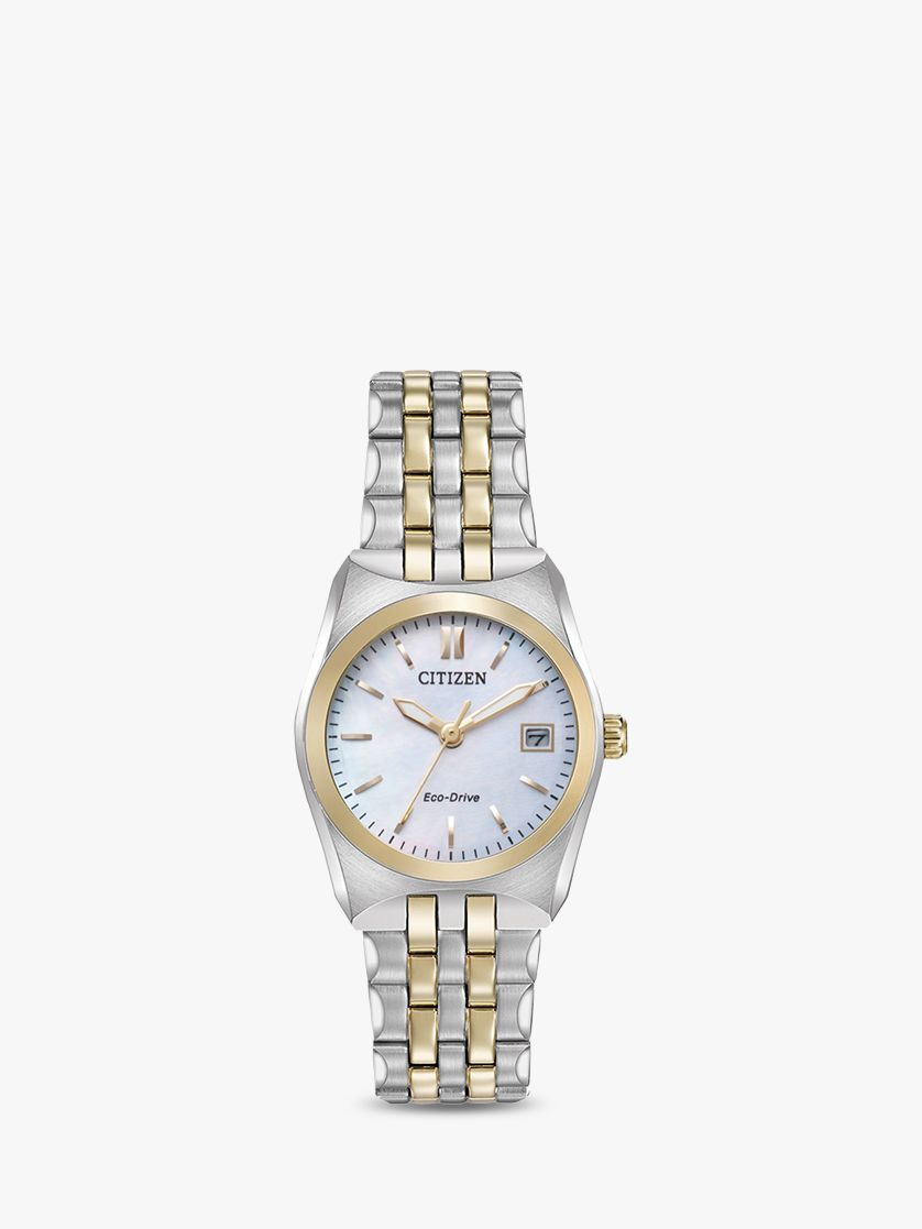 Citizen Citizen Women's Eco-Drive Date Bracelet Strap Watch