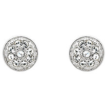 Buy Melissa Odabash Swarovski Crystal Pave Stud Earrings Online at johnlewis.com