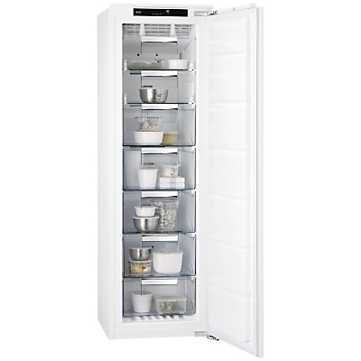 AEG ABS81826NC Integrated Tall Freezer, A++ Energy Rating, 56cm Wide, White Review thumbnail