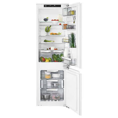 buy aeg sce81824nc integrated fridge freezer a energy rating 56cm wide white online