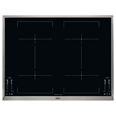 AEG HK764403XB Induction Hob, Black