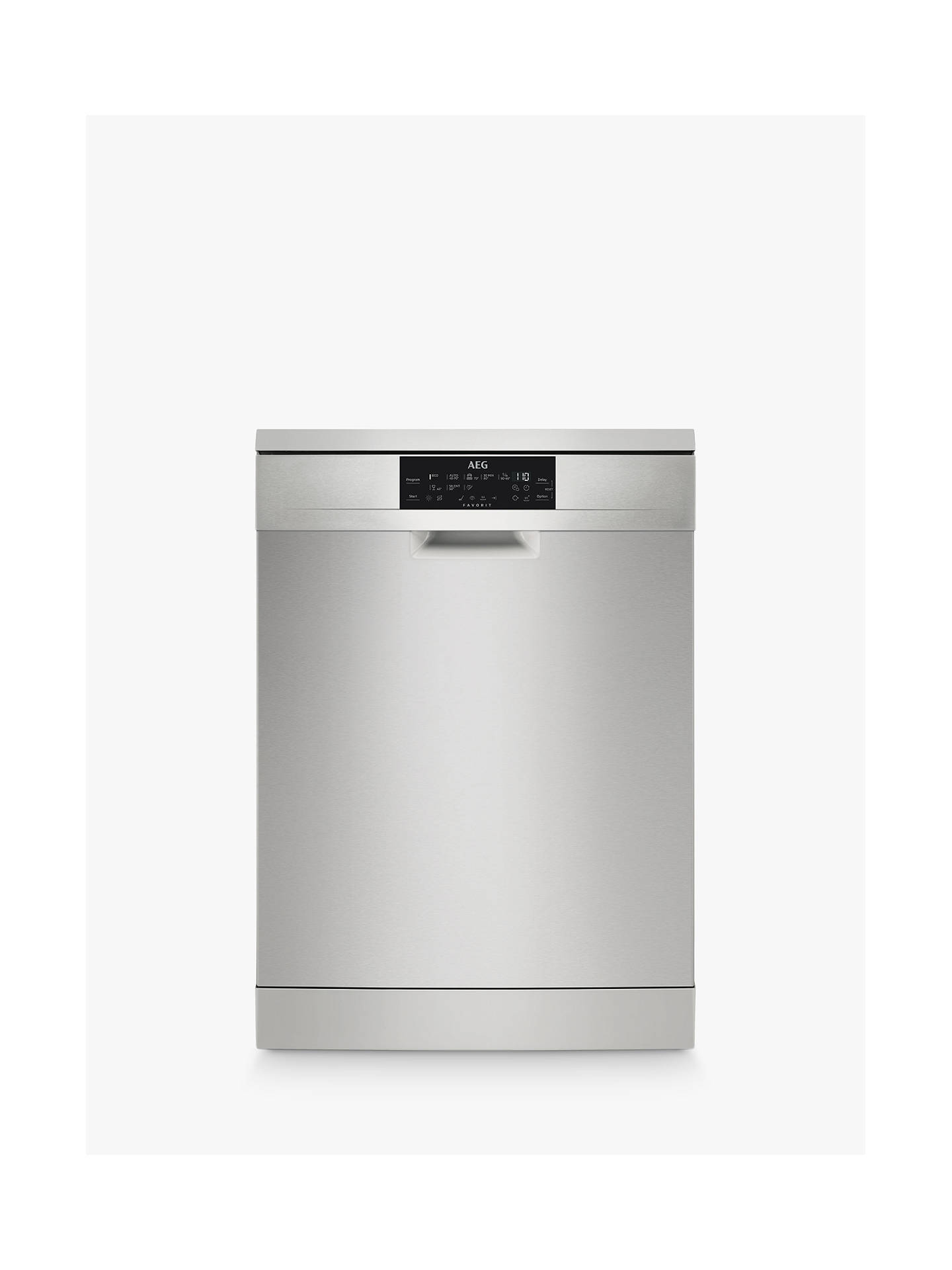 BuyAEG FFE83700PM Freestanding Dishwasher, Silver Online at johnlewis.com