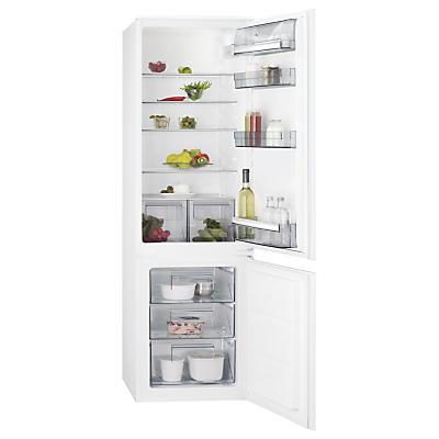 Image of AEG SCB61811LS Integrated Fridge Freezer, A+ Energy Rating, 54cm Wide, White