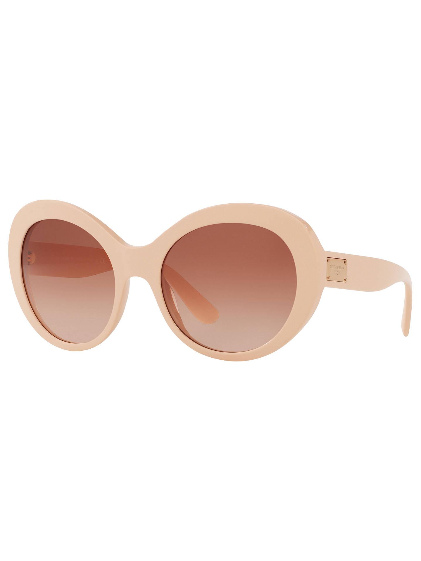 e0e7963857 BuyDolce   Gabbana DG4295 Outsize Oval Sunglasses