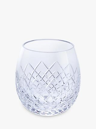 Royal Brierley Kilda Cut Glass Tumblers, Clear, 310ml, Set of 2