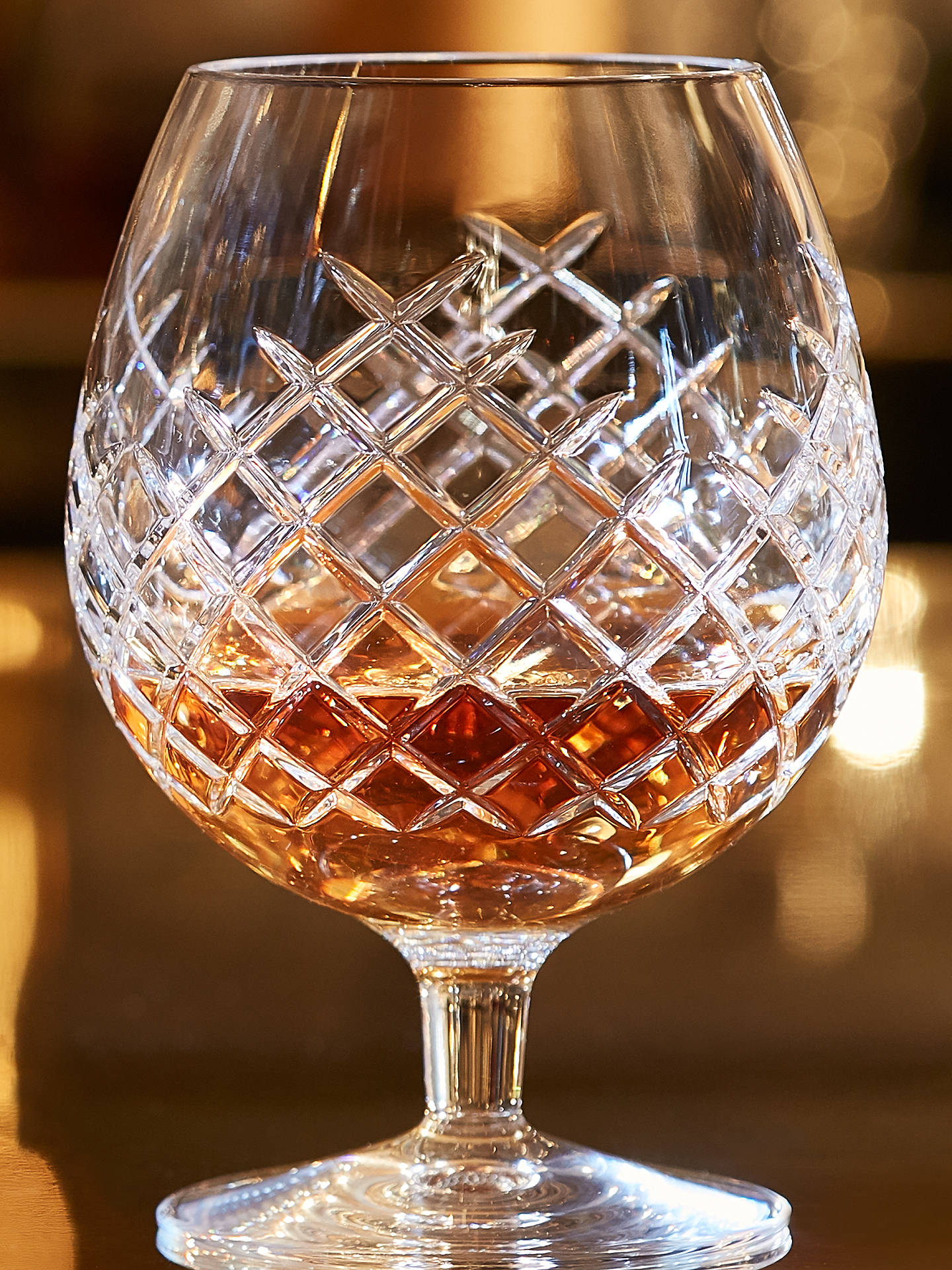 BuySoho Home Barwell Cut Lead Crystal Brandy Glasses, 530ml, Set of 2 Online at johnlewis.com