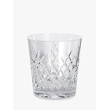 Buy Soho Home Barwell Crystal Cut Rocks Glasses, 300ml, Set of 2 Online at johnlewis.com