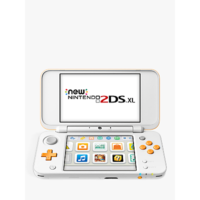 Image of New 2DS XL White & Orange
