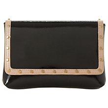 Buy Dune Borriss Stud Clutch Bag, Black Online at johnlewis.com