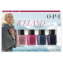Buy OPI Iceland Colour Collection Mini Nail Lacquer Set Online at johnlewis.com