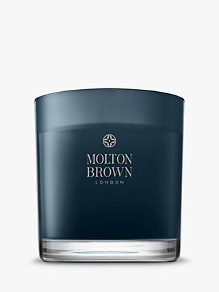 Molton Brown Russian Leather Three Wick Scented Candle