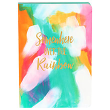 Buy Bound Over The Rainbow Notebook, Multi Online at johnlewis.com