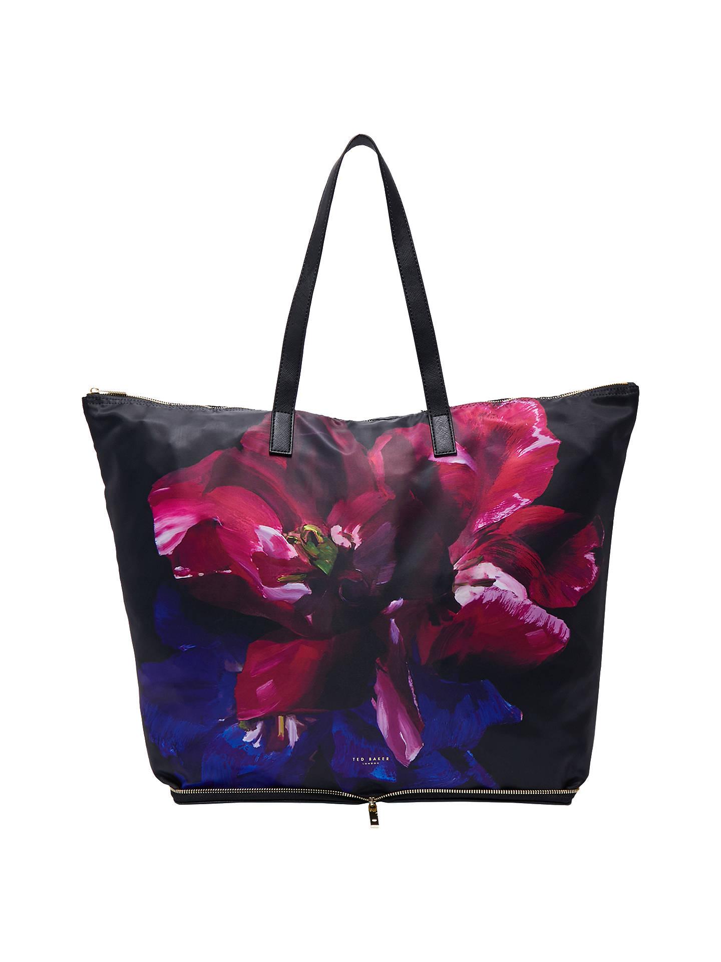 512177e12c7eb9 Buy Ted Baker Alene Impressionist Bloom Foldaway Shopper Bag