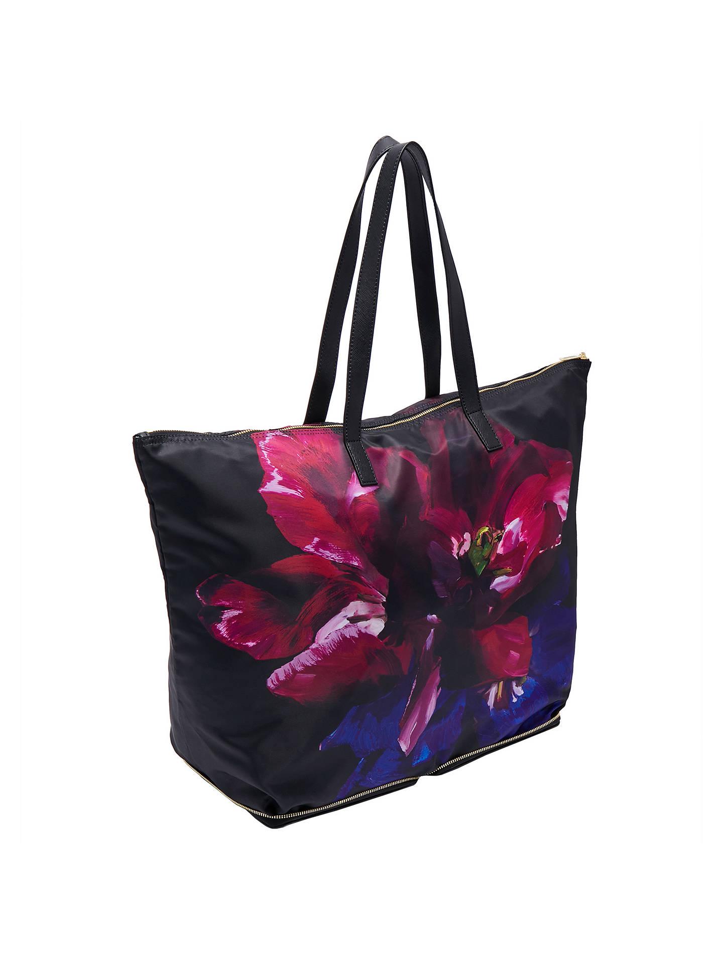 cfe26b6f53b765 ... Buy Ted Baker Alene Impressionist Bloom Foldaway Shopper Bag