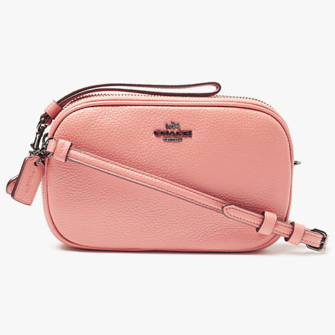 901007348094 ... coupon code for buy coach small leather cross body clutch bag melon  online at johnlewis .