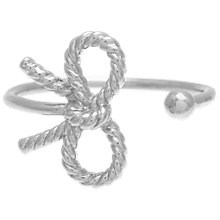 Buy Olivia Burton Vintage Bow Adjustable Ring Online at johnlewis.com