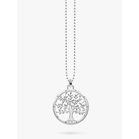 Buy thomas sabo glam soul tree of life pendant necklace silver buy thomas sabo glam soul tree of life pendant necklace silver online at johnlewis mozeypictures Choice Image