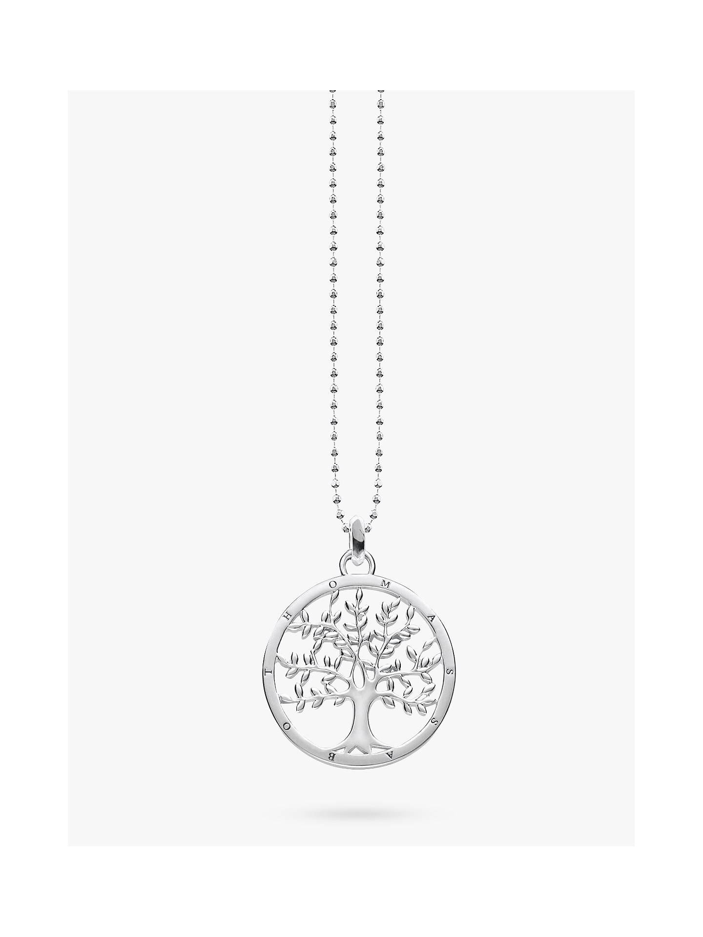 Thomas sabo glam soul tree of love pendant necklace silver at buythomas sabo glam soul tree of love pendant necklace silver online at johnlewis aloadofball Choice Image