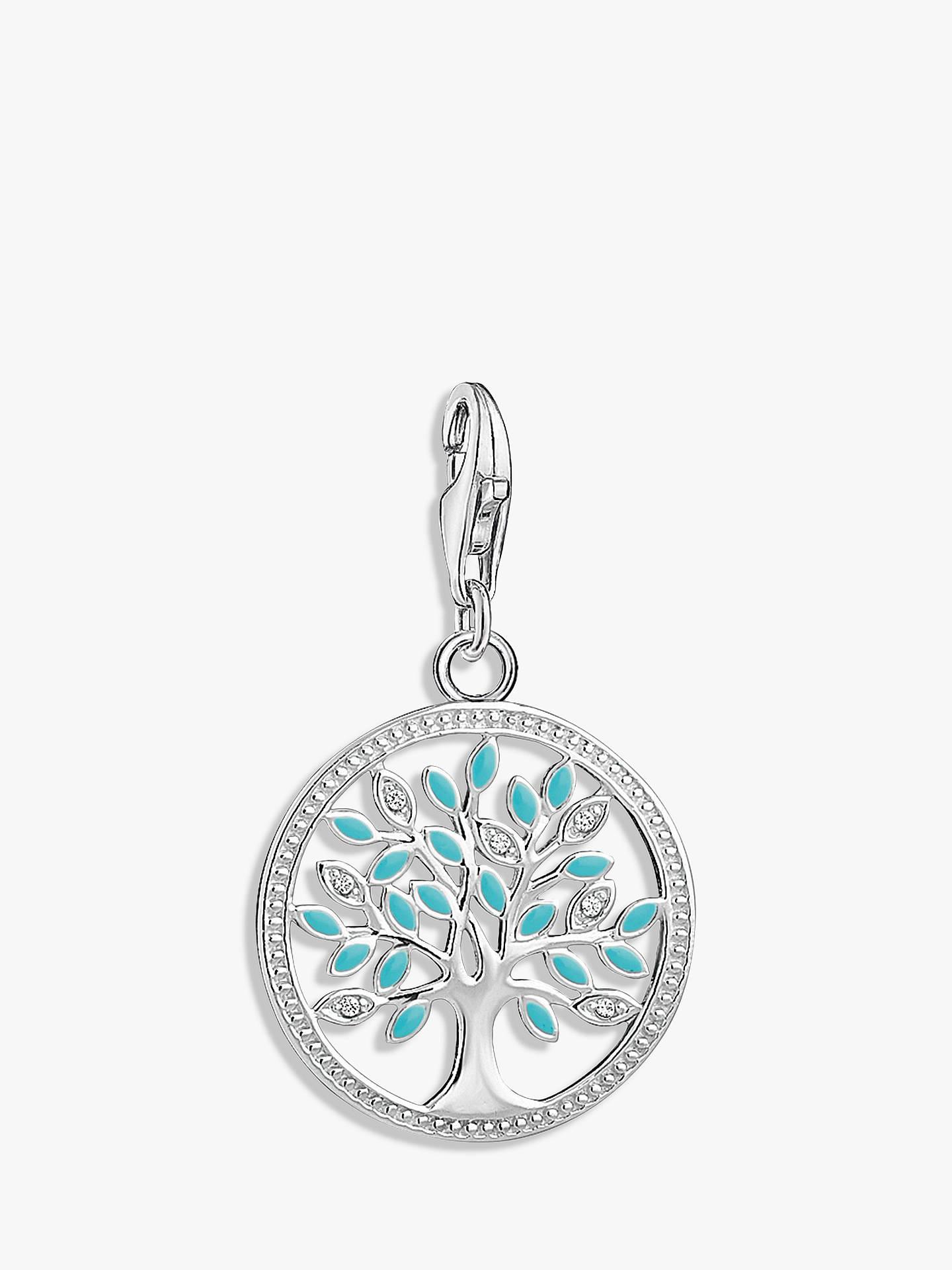 e1125a611a3 Buy THOMAS SABO Charm Club Cubic Zirconia Tree of Love Charm