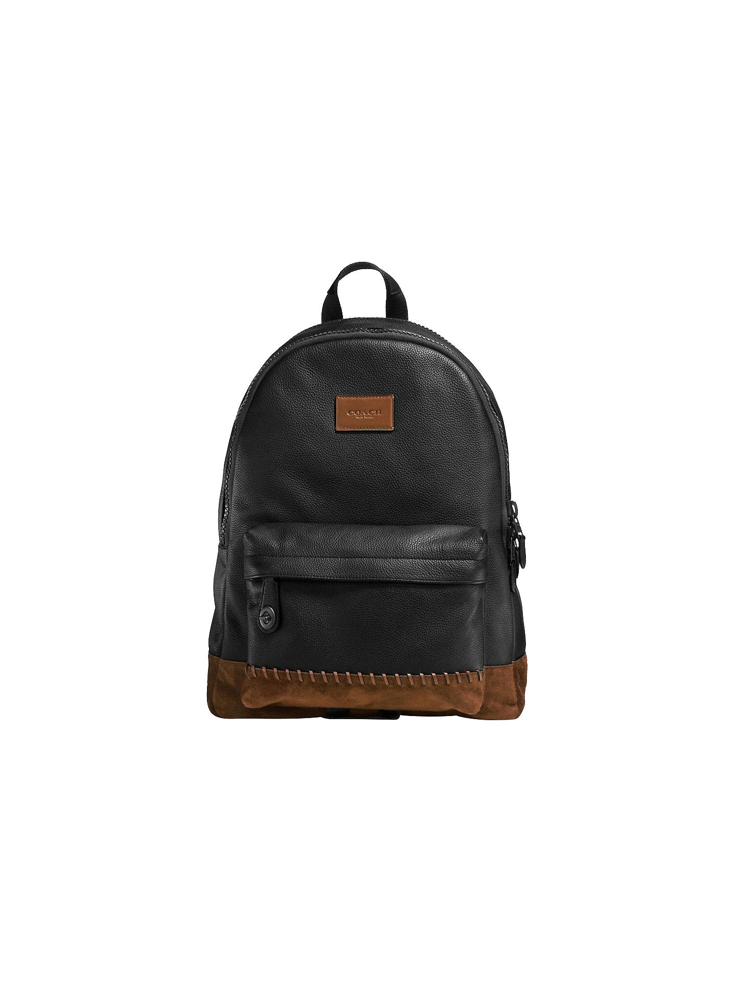 c54113875 coupon code for buycoach campus backpack black mahogany online at johnlewis  9094e c6a53