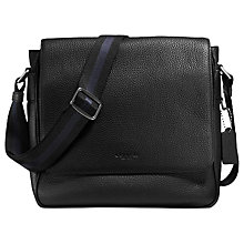 Buy Coach Metropolitan Map Bag, Black Online at johnlewis.com