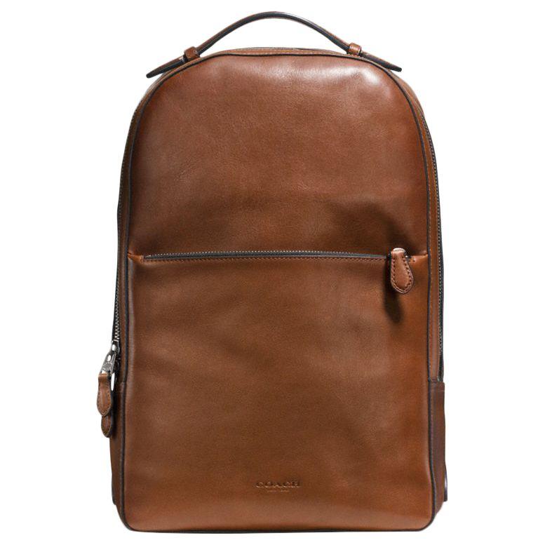 Coach Metropolitan Pebble Soft Leather Backpack