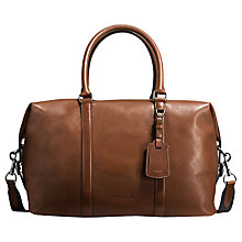 Buy Coach Explorer Dark Sport Calf Saddle Bag, Brown Online at johnlewis.com