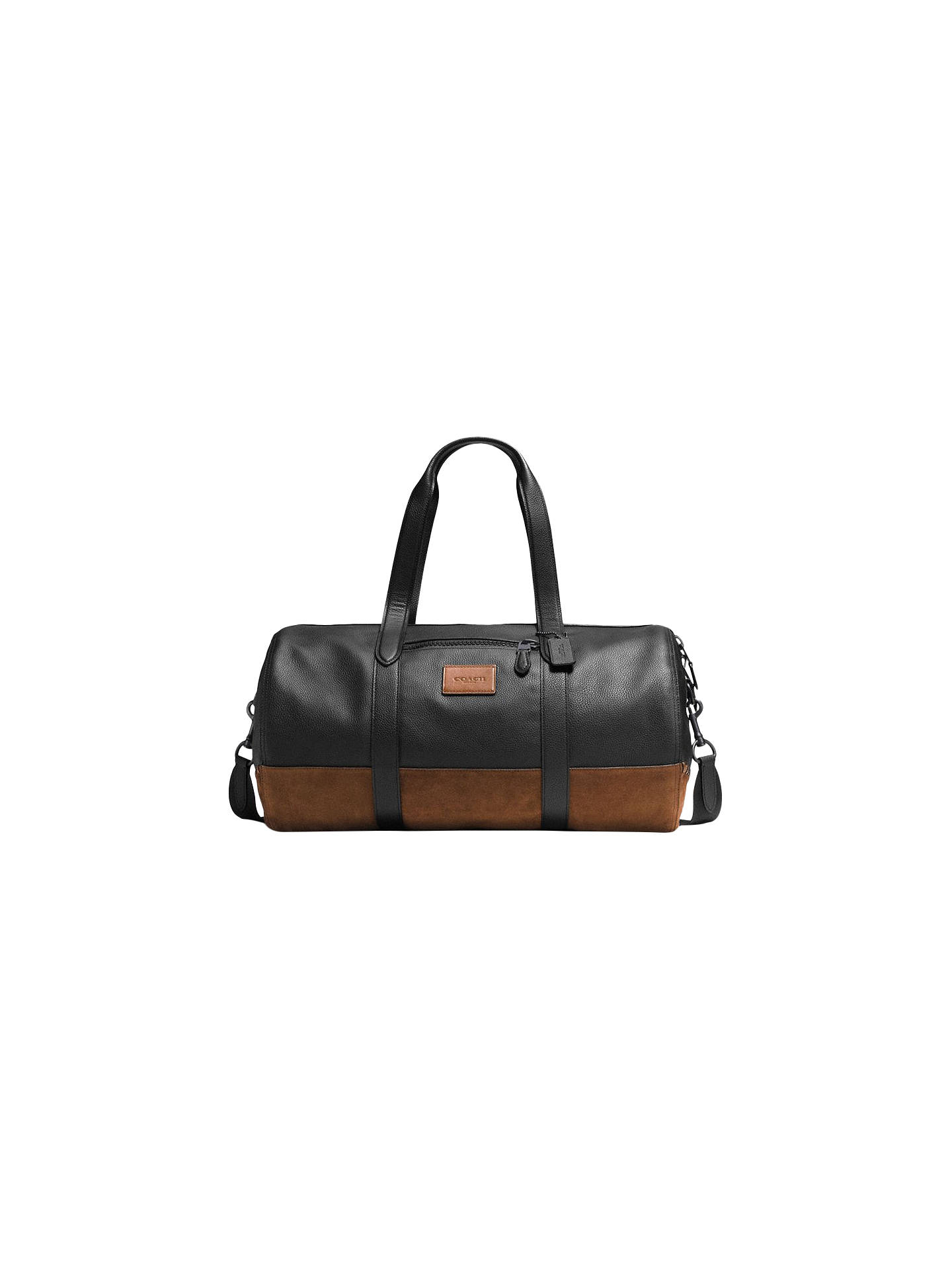 94bbb5f07604 Coach Metropolitan Leather Gym Bag at John Lewis   Partners