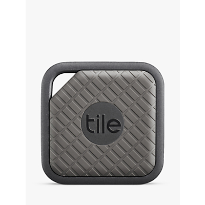 Image of Tile Sport, Phone, Keys, Item Finder, 1 Pack, Grey