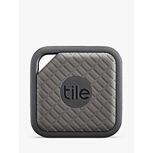 Buy Tile Sport, Phone, Keys, Item Finder, 1 Pack, Grey Online at johnlewis.com