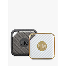 Buy Tile Sport & Style, Phone, Keys, Item Finder, Combo Pack Online at johnlewis.com