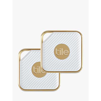 Image of Tile Style Pro Series, Phone, Keys, Item Finder, 2 Pack, Gold