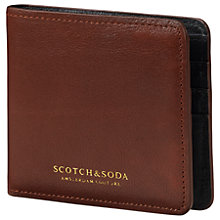 Buy Scotch & Soda Classic Bifold Leather Wallet Online at johnlewis.com