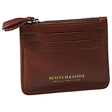 Buy Scotch & Soda Classic Leather Card Holder Online at johnlewis.com