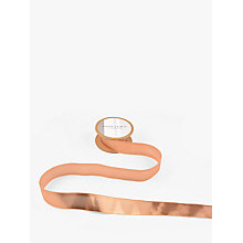 Buy John Lewis Liquid Lame Ribbon, 5m, Rose Gold Online at johnlewis.com