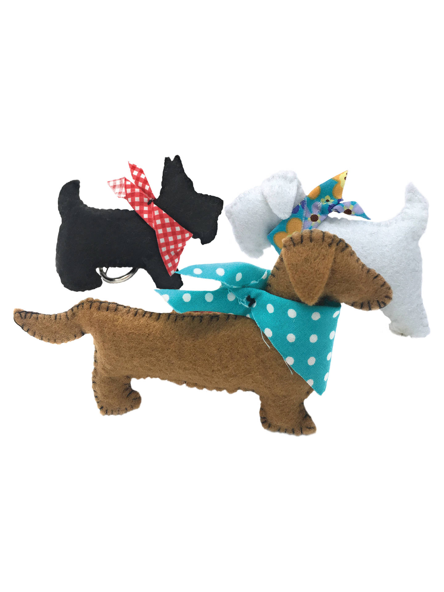 BuyThe Crafty Kit Company Sew Your Own Puppies Kit Online at johnlewis.com