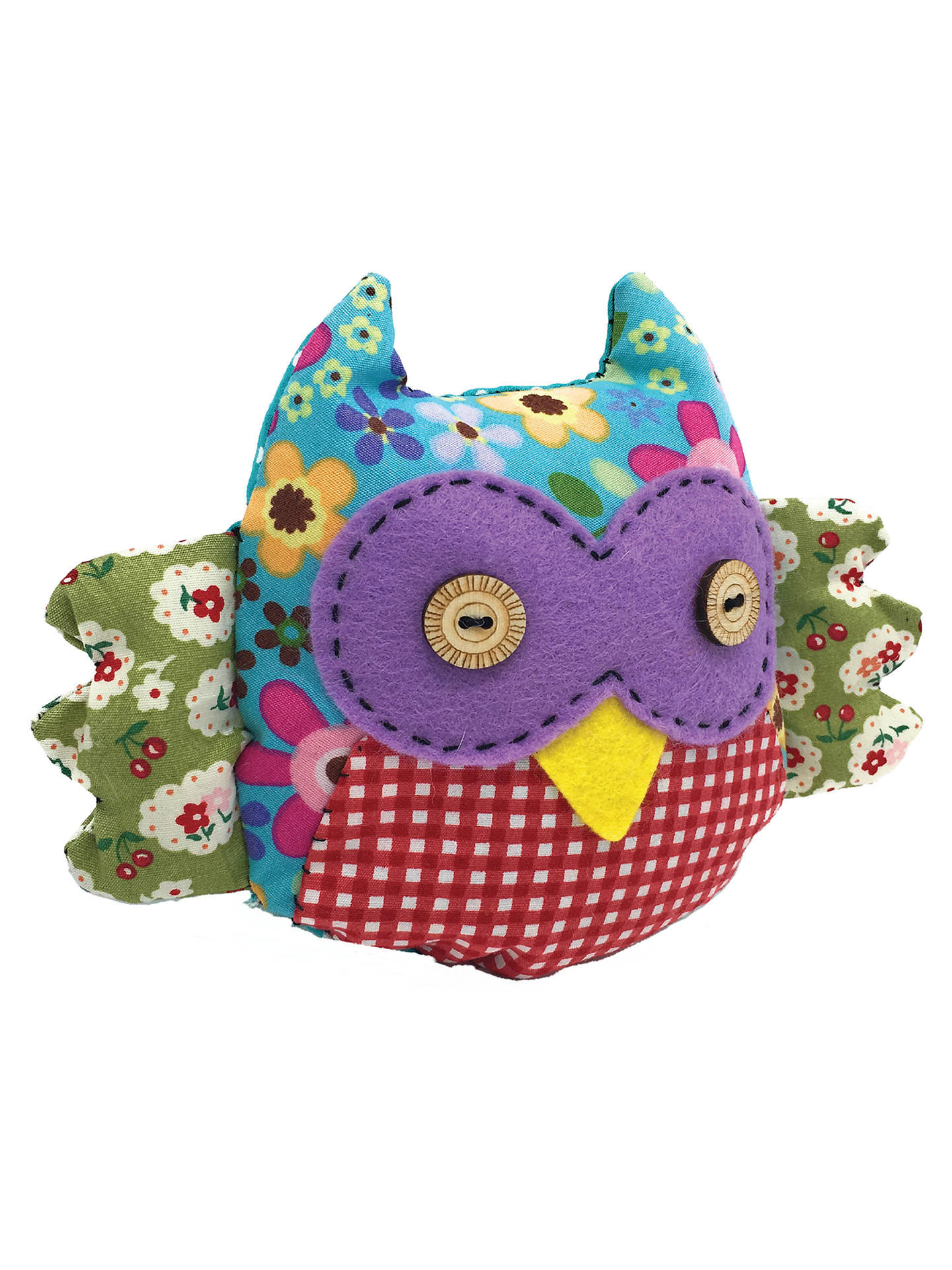 BuyThe Crafty Kit Company Sew Your Own Patchwork Owl Kit Online at johnlewis.com