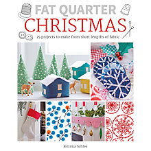 Buy Fat Quarter Christmas Project Book by Jemima Schlee Online at johnlewis.com