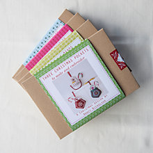 Buy Nancy Nicholson Pocket Baubles Embroidery Kit Online at johnlewis.com