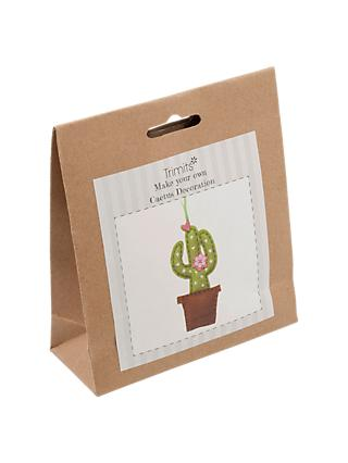 Trimits Cactus Felt Craft Kit