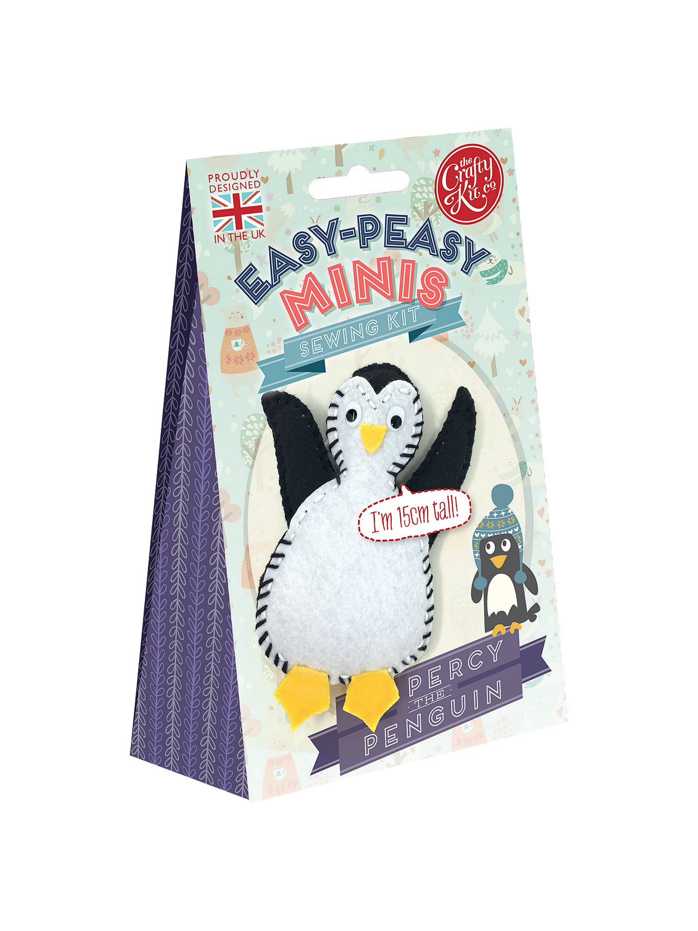 Buy The Crafty Kit Company Percy The Penguin Felt Sewing Kit Online at johnlewis.com